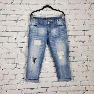 W118 Walter Baker Distressed Boyfriend Jeans